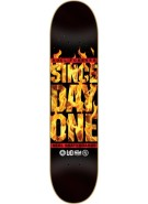 Real The Block is Hot - 8.38 - Black - Skateboard Deck