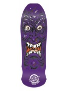 Santa Cruz Skate Roskopp Face Purple Reissue 31 in 9.5 in - Skateboard Deck