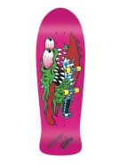 Santa Cruz Slasher Hot Pink Reissue - Pink - 31.13 x 10.1 - Skateboard Deck
