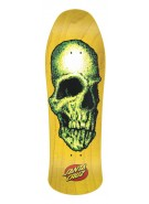 Santa Cruz Street Creep Yellow Reissue - Yellow - 31.75 x 10 - Skateboard Deck
