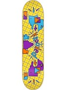 Krooked Plaidikal MD - Yellow - 8.18 - Skateboard Deck