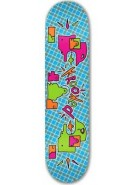 Krooked Plaidikal LG - Blue - 8.5 - Skateboard Deck