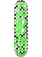 Krooked Checked Out PP Small - 7.75 - Skateboard Deck