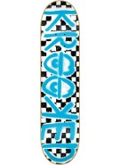 Krooked Checked Out PP Large - 8.25 - Skateboard Deck