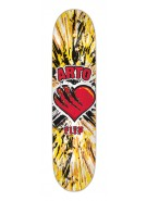 Flip Skateboards Arto Hearto Yellow Deck - 31.5 in 8 in