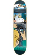Almost Accidental Death R7 - Grey/Teal - 8.1 - Skateboard Deck