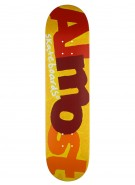 Almost Pop Art SG+ - Yellow - 7.75 - Skateboard Deck