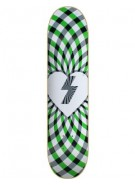 Mystery Kaleidescope Deck - Green - 7.625 - Skateboard Deck