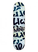 Cliche Paste Mini Youth R7 - Light Blue/Black - 7.3 - Youth Skateboard Deck