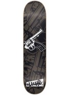 Cliche Friendly Fire R8 - Black - 8.1 - Skateboard Deck