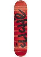 Cliche Stripes PG - Black/Red - 8.0 - Skateboard Deck