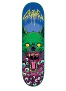 Creature Atomic Bummer Wolf - Blue/Green - 8.8in - 31.5in - Skateboard Deck