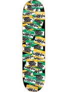 DGK Hello Tags BLK/GRN - 8.06 - Skateboard Deck