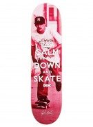 DGK Kalis Keep Calm - 8.06 - Skateboard Deck