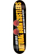 DGK Kalis Natural Born Hustlers - Black - 7.8 - Skateboard Deck