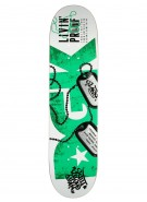 DGK Livin Proof - Green - 8.06 - Skateboard Deck