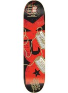 DGK Livin Proof - Black/Red - 8.25 - Skateboard Deck