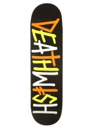 Deathwish Deathspray Multi - Black/Orange - 8.25 - Skateboard Deck