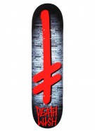 Deathwish Gang Brick - Red - 7.87 - Skateboard Deck