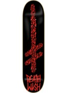 Deathwish Matrix Gang Logo - Black/Red -  8.0 - Skateboard Deck