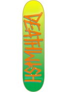 Deathwish Deathspray - Yellow/Green Fade - 8.25 - Skateboard Deck