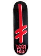 Deathwish Gang - Black/Red - 8.0 - Skateboard Deck