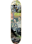 Slave Allie Meltdown - Black/Green - 8.25 - Skateboard Deck