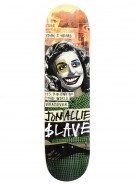 Slave Allie End of the World - Green/Orange - 8.25 - Skateboard Deck