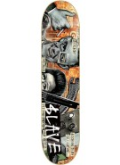 Slave End of the World - Orange - 8.25 - Skateboard Deck