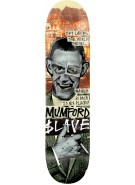 Slave Mumford End of the World - Green/Black/Orange - 8.37 - Skateboard Deck