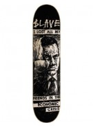 Slave No Friends PP - Black - 8.125 - Skateboard Deck