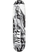 Slave Bass Destruction - White - 8 - Skateboard Deck