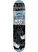 Slave Allie Automaton - Blue/Black - 8 - Skateboard Deck