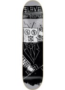Slave Team Automaton - Grey - 8.125 - Skateboard Deck