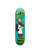 ATM Mohs Sketch - Teal - 8.0 - Skateboard Deck