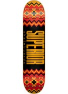 Superior Native - Kankakee - Orange/Red - 8.1 - Skateboard Deck