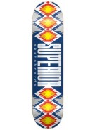 Superior Native - Tuskegee - Navy/Grey - 7.75 - Skateboard Deck