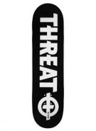 Threat Standard - Black/White - 8.0 - Skateboard Deck