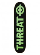 Threat Standard - Black/Green - 8.25 - Skateboard Deck