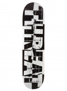 Threat Shredded - Black - 7.75 - Skateboard Deck
