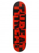 Threat Shredded - Red - 8.0 - Skateboard Deck