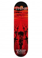 Think Pro Deck The Omen Milligan - 8.0 - Skateboard Deck
