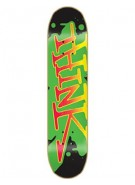 Think 'Spray Tag' Deck - Rasta - 8 - Skateboard Deck