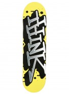 Think 'Spray Tag' Deck - Yellow/Black - 8.125 - Skateboard Deck