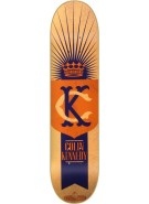 Blueprint Skateboards Monogram Kennedy - Orange - 7.75 - Skateboard Deck