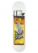 Blueprint Skateboards Shier Big Smoke - White/Yellow - 8.25 - Skateboard Deck