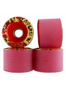 Divine Street Slayers - Red - 72mm - Skateboard Wheels