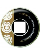 Element Section CORE 54mm - White/Black/Green - Skateboard Wheels