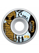 Alien Workshop Dill Alpha - Yellow - 52mm - Skateboard Wheels