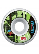 Alien Workshop Alpha - Green - 51mm - Skateboard Wheels